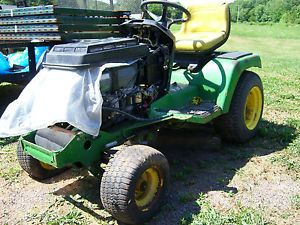 As Is John Deere GX345 Lawnmower Lawn Tractor Riding Mower GX 345 Parts Only