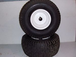 Toro LX426 Lawn Garden Tractor Front Tires and Wheels 15 x 6 00 6