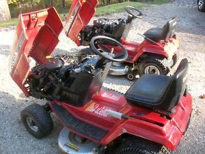 Two 2 Honda 3813 Riding Tractors Lawn Mowers
