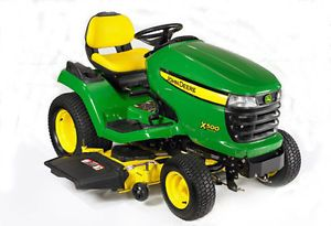 "New John Deere X500 Garden Tractor Select Series Riding Lawn Mower 26HP 48"" Deck"