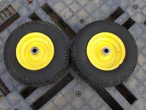 John Deere STX30 Lawn Garden Tractor 2 13 x 5 00 6 Front Tires and Wheels
