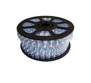 151' LED Cool White Rope Lights Indoor Outdoor Lighting