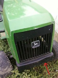 John Deere 160 Lawn Tractor Riding Mower Hood and Grill