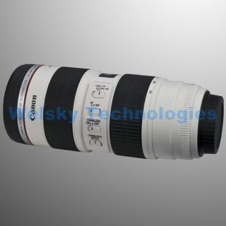 Canon EF 70 200mm Camera Lens Cup Coffee Stainless Steel Mug Gift Pouch DC65