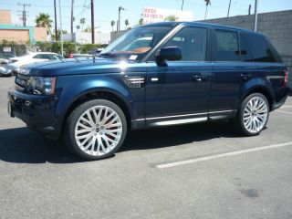 "Land Rover 22"" inch Wheels Rims Tires Package Range Rover Sport LR3 LR4 New Set"