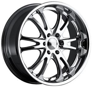 24 inch 24X10 Boss 313 Chrome Wheel Rim 6x5 5 Tacoma Tundra QX4 QX56 Escalade