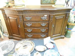 Bernhardt Buffet Side Table Big and Beautiful 6 Feet Long Must See Pictures