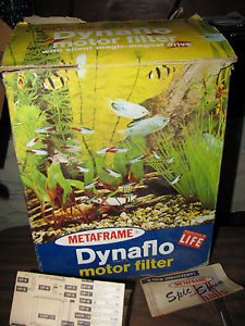 Metaframe Dynaflo Motor Filter Aquarium Filter Magic Magnet Drive Model 410