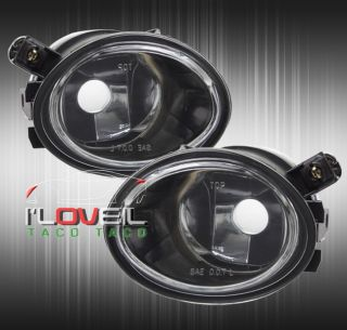 01 06 BMW 3 Series E46 E39 M3 M5 Front Bumper Fog Lights Lamps Clear Lens