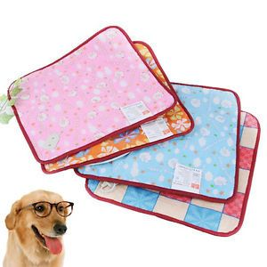 New Adjustable Electric Warmer Portable Pet Dog Cat Bed Heating Mat Pad Blanket