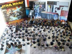 Star Wars Miniatures Huge Collection 150 27 RARE Figs