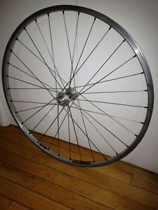 "26"" Mountain Bike Front Wheel Hope Titanium Hub Sun CR18 Rim Butted Spokes"
