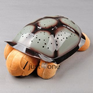 Turtle Night Lamp LED Light Star Projection Projector