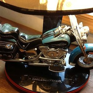Harley Davidson Motorcycle Lamp and Night Light