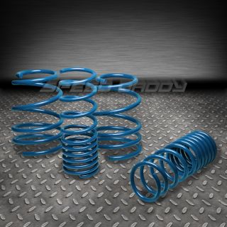 "1"" Drop Racing Suspension lowering Springs Spring 10 13 2U 4U Compact MPV Blue"