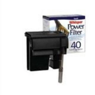 Tetra Whisper Power Filter 40 40 Gallon Fish Tank Goldfish New Filter Black Top