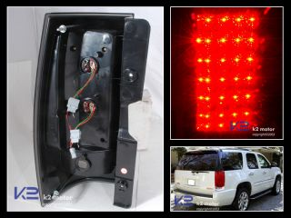2007 2011 Yukon XL Tahoe Suburban Red LED Tail Lights Brake Lamp