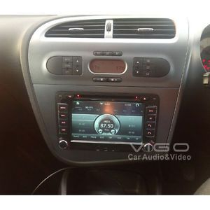 ETO Seat Leon Altea Toledo 3D Car Stereo DVD Autoradio GPS SAT Nav Touch Screen