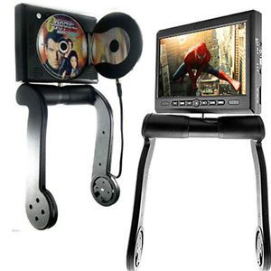 "8 5"" Car Central Armrest TFT LCD Screen Monitor DVD Player  4 FM Game"