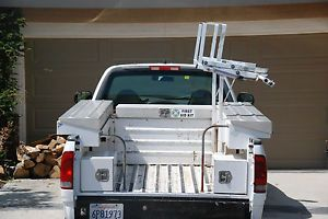 Truck Side Tool Boxes Ladder Rack Pro 8 Feet Long