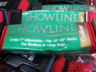 48 Wholesale Quality USA Made Nylon Dog Collars Large