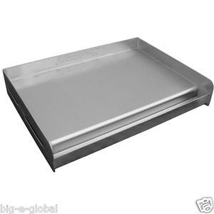 New Sizzle Q Outdoor Stainless Steel Griddle Cook Plate for BBQ Grill