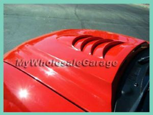 99 00 01 02 03 04 Ford Mustang Cowl Vented Hood Cobra R