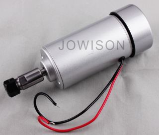 300W 12V 48V DC High Speed Air Cooled Spindle Motor for Engraving Milling