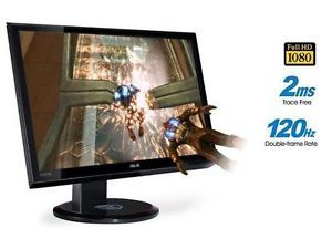 "Asus VG236H 23"" 2ms 1080p 120Hz 3D Full HDMI Height Swivel LCD Monitor Monitor 4719543303313"