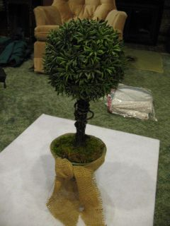 Artificial Boxwood Ball House Plant Tree