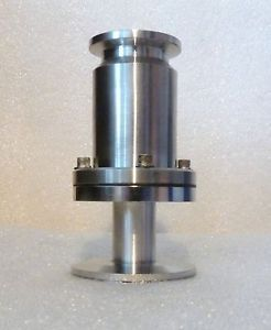 New Vacuum Stainless Steel Fitting Adapter Check Valve KF 40 NW40 KF 25 NW25