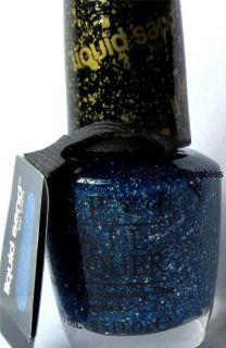 OPI Get Your Number NLM46 Blue Shimmer Limited Edition Mariah Carey Nail Polish