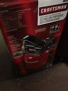 Craftsman 12 Gallon Portable Vertical Air Compressor 16640