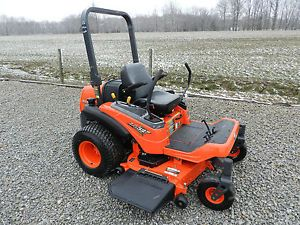 2012 Kubota ZG327 Zero Turn Riding Lawn Mower 60 inch Deck