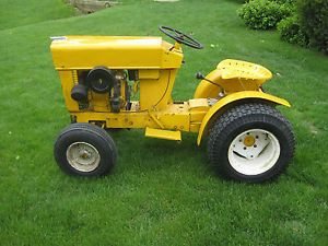 1963 Cub Cadet Original Vintage Tractor Riding Mower No Deck Runs Great