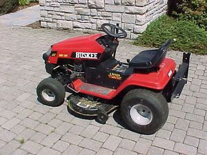 "Huskee Lawn Tractor Riding Mower 38"" Deck 14 5 HP Nice Condition Local Pickup"