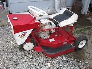 Vintage Swisher Big Mow Zero Turn Riding Lawn Mower Model A 32