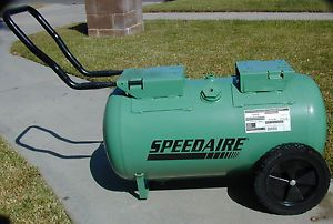 Speedaire 1VW38 20 Gal Replacement Portable Gas Powered Air Compressor Tank