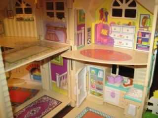 Fisher Price Sweet Streets Dollhouse Country Cottage