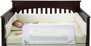 Crib to Toddler Bed Rail 33 x 16 Extra Tall Sleeping Safety Security Guard New