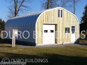 Durospan Steel 20x16x12 Metal Building Kits Factory Direct Animal Shelter Sheds