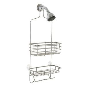 Shower Caddy Zenith Stainless Steel Shelf Rack Organizer Bath Tub Bathroom New