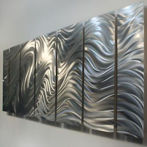 Metal Modern Abstract Wall Art Painting Sculpture Decor