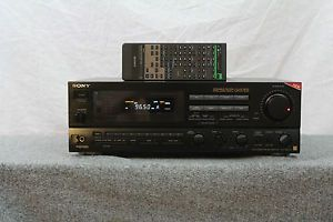 Sony Str GX67ES ES Series 580 Watt 5 Channel Home Theater Receiver
