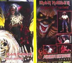 "18"" Eddie Iron Maiden Asylum Ultimate Box Set The Number of The Beast"