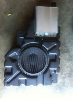 "Ford Expedition Navigator SD 8"" Subwoofer Sub Amplifier Mach 460"