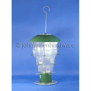 12 Port Squirrel Proof Electric Wild Bird Feeder