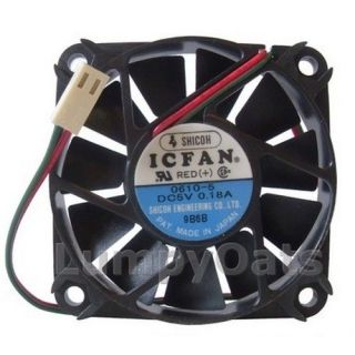 Shicoh 60mm x 10 5mm 5 Volt 2 Pin Fan