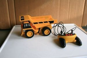 """Cat"" Line Remote Controlled Dump Truck Toy State Sound Movement"