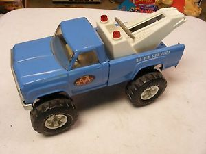 Tonka AA AAA Tow Truck Wrecker Blue Chevy Pickup Truck Toy Mr 970 1970 RARE